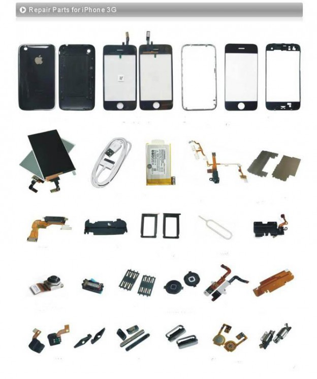 Iphone-3g-3gs-Spare-Parts-repair-Parts